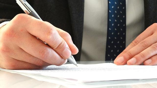 Podpis na dokumentach